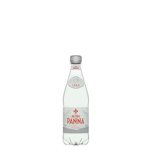 Acqua Panna 50 cl Plastic Bottle Front