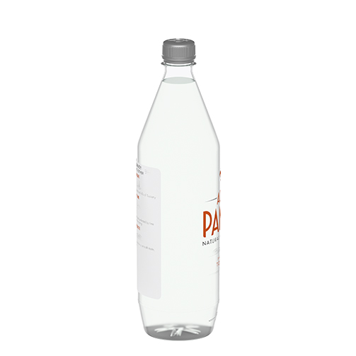 Acqua Panna 1 L Plastic Bottle Side