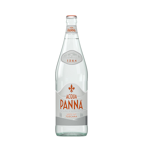 Acqua Panna 1 L Glass Bottle Front