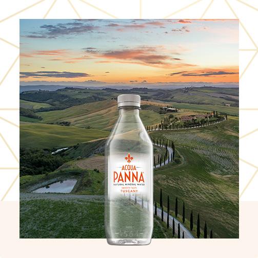 50 cl water plastic bottle square