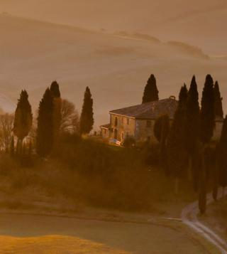 Hills Landscape in Tuscany