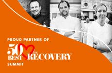 50 Best Recovery Summit sponsored by Acqua Panna and S.Pellegrino
