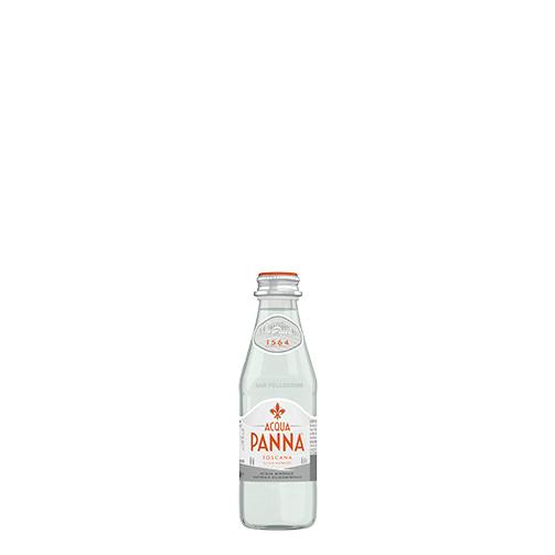 Acqua Panna Bottiglia di vetro 25 cl e pasto leggero Animazione