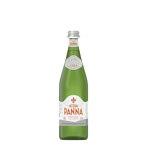 Acqua Panna Bottiglia Vetro verde 75cl fronte