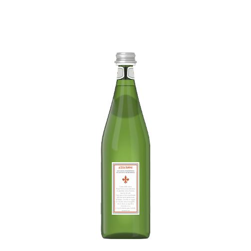 Acqua Panna Bottiglia Vetro verde 75cl retro