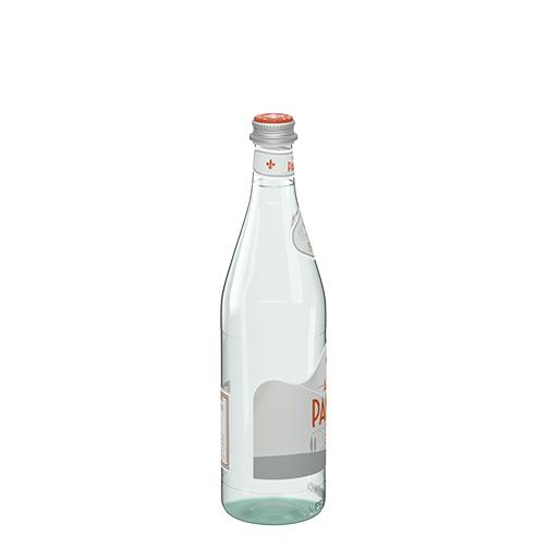 قنينة اكوا بانا الزجاجية من حجم 75 سل الجانب