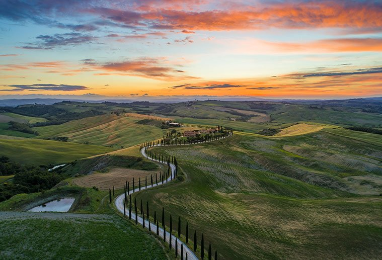 Best of Tuscany, Tuscany Hills