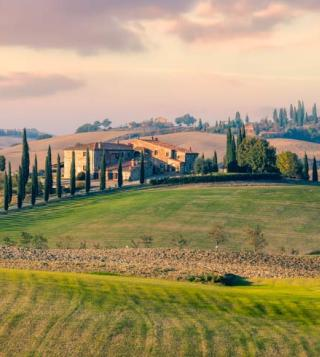 Sunny Countryside in Tuscany