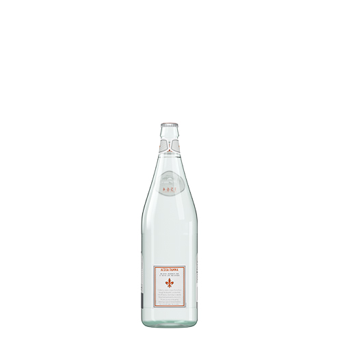 Acqua Panna 50 cl Glass Bottle Back
