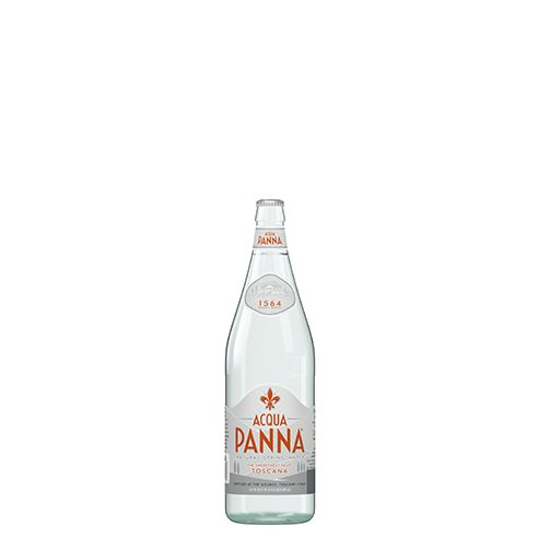Acqua Panna 50 cl Glass Bottle Front