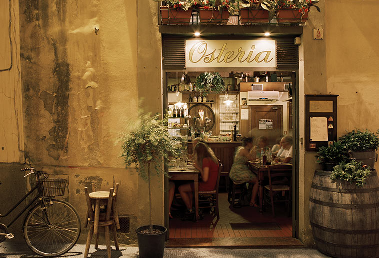 Best of Tuscany, Osteria