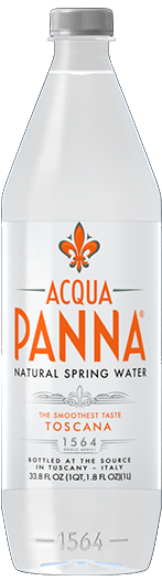 Plastic Bottle Acqua Panna Natural Mineral Water
