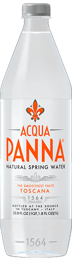 Plastic Bottle Acqua Panna Natural Spring Water