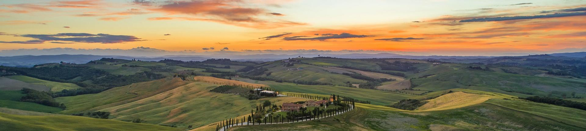 Best of Tuscany, hills