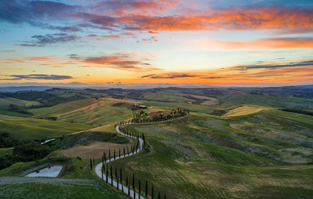 Best of Tuscany, hills landscape