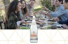 Acqua Panna 50 cl Glass Bottle and Friends Meal Carousel